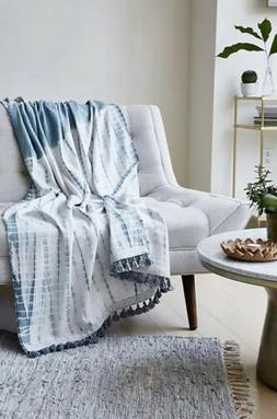 NEW Free People ONE Hand Dyed Blanket Throw / Beach Towel