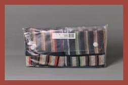 NEW Set of 2 Missoni Home Teseo Striped 100% Cotton Woven Ha