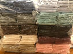 NIP New LOT OF 12  Cotton Salon Car Wash Hand Towels