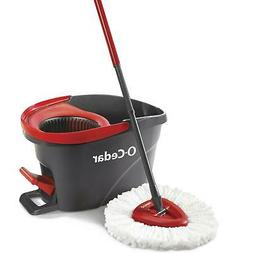 O- Cedar, Easywring Spin Mop & Bucket System, 3 Pc Makes Lif