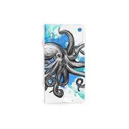 octopus 2 hand towel