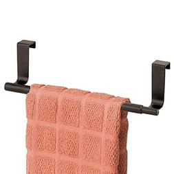 New Over the Cabinet Expandable Kitchen Towel Bar Bronze Rus