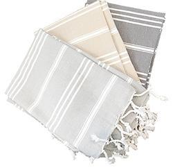 Palace Hand Towel 100% Turkish Cotton Hand-loomed Bath Beac