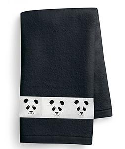 Panda Bear Face Heavy Cotton Hand Towel - In Your Choice of