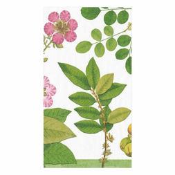 Caspari Paper Guest Towel Napkins, Coromandel Garden