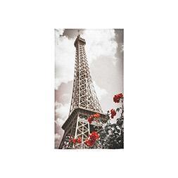 InterestPrint Paris Eiffel Tower French Vintage Style Parisi