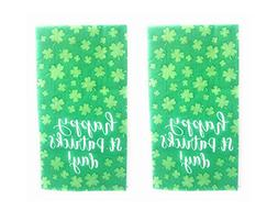 St Patricks Day Holiday Disposable Guest Towels - 2 Pack