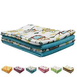 Pattern Printing Towels, NEUAIR Microfiber Hand/Face Towels