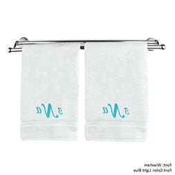 BC BARE COTTON Personalized Monogram Make Your Own Hand Towe