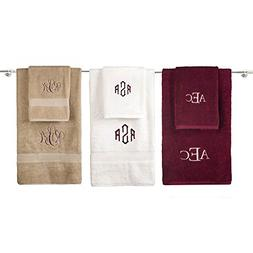 Personalized Monogrammed Decorative Bath Linens for Home, Of