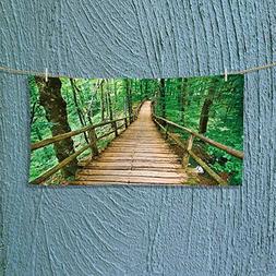 AmaPark Photo Or Text Image DIY Personalized Custom Towels/H