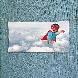 Photo Or Text Image DIY Personalized Custom Towels/Hand Towe