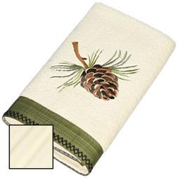 Avanti Pine Creek Hand Towel, Ivory