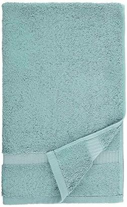 Pinzon Organic Cotton Hand Towels , Spa Blue