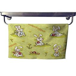 """Suchashome Quick-Dry Towels Easter Wallpaper Towel W 14"""" x L"""