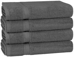Premium 700 GSM Cotton Large Hand Towels 4-Pack 16 x 28 - 6