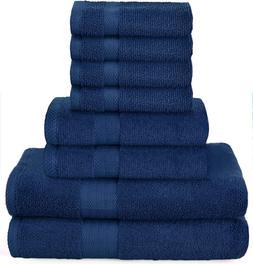 """PREMIUM""  8 Piece Towel Set includes Bath Towel Hand Towel"