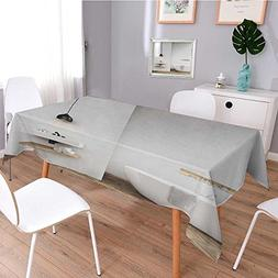 Printed Tablecloth,bathroom with light gray walls bathtub si