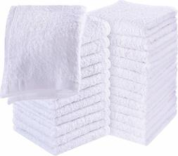 Pure Cotton Wash Cloth for Face Hand Gym Spa Utopia Towels 2