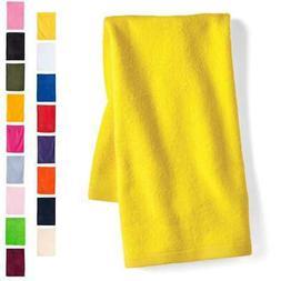 "Q-Tees Deluxe Hemmed Hand Towel 16"" x 25""  T300"