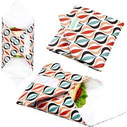 Wegreeco Reusable Sandwich Wrap,  - Geometry
