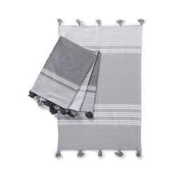 """Kuprum Rhodes 100% Turkish Cotton Set of 4 Hand Towels 20""""x3"""