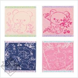 Rilakkuma Ichiban kuji Prize F hand towel 4 types set 10 inc
