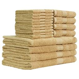Story@Home Ringspun Cotton Extra Absorbent Towels-18 Pcs Tow