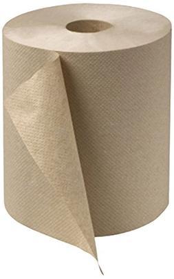 Tork RK600E Universal Large Single-Ply Hand Roll Towel, Natu