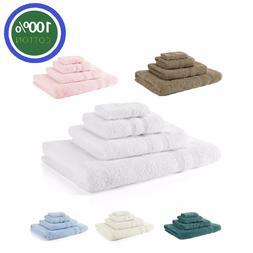 Royal Egyptian 100% Cotton Soft Face Hand Bath Towels Bath S