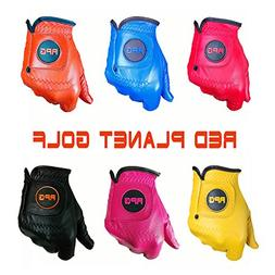 RPG Color Golf Gloves 100% AA CABRETTA Leather-Men's -Match
