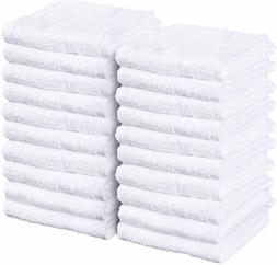 Salon Towel Gym Towel Hand Cotton 24 Pack 16 x 27 inch Utopi