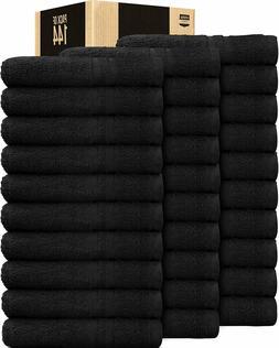 Salon Towel Gym Towel Hand Towel Cotton 24 Pack 16 x 27 inch