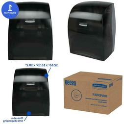 Sanitouch Hard Roll Paper Towel Dispenser , Hands-Free Pull
