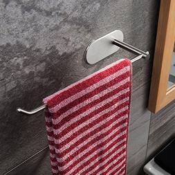 Taozun Self Adhesive Towel Bar 11-Inch Hand Dish Towel Rack