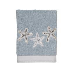 Avanti Linens 038732MIN Sequin Shells-V Hand Towel, Medium,