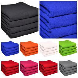 SET OF 2 & 4 LARGE HAND TOWELS LUXURIOUSLY SOFT 50X90CM 100%