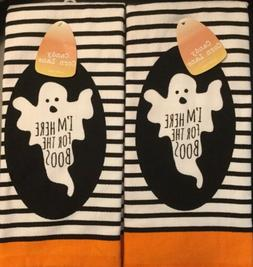 Set Of 2 Soft Extra Large Deluxe Halloween Kitchen Dish Hand
