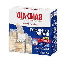 Band-Aid Band-Aid Sheer Strips Assorted, 80 each
