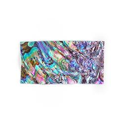 Society6 Shimmery Rainbow Abalone Mother Of Pearl Hand Towel