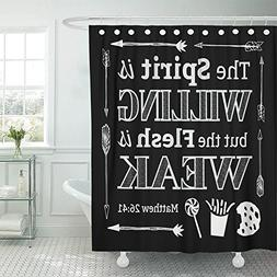 shower curtain polyester fabric spirit