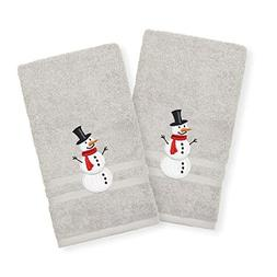 Authentic Hotel and Spa Snowman Embroidered Turkish Cotton H