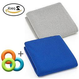 Soft Cooling Towel for Instant Relief, 48inch Extra Long Nat