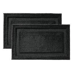 mDesign Soft Microfiber Polyester Non-Slip Rectangular Spa M