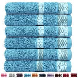 CASA COPENHAGEN Solitaire Cotton 17.70 oz/yd² thick 6 pack