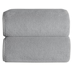 Graccioza Spa Sponge Hand Towels   - Silver - Made in Portug