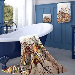 WolfgangDecor Spring Premium Cotton Extra Large Bath Towel S
