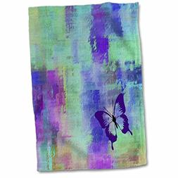 3dRose Spring And Summer Abstracts - Image of Large Purple B