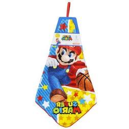 Super Mario  kindergarten hand towel/Star Pop basket Disney