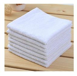 Georgiabags 6 Pack Super Soft, Pure Cotton, Deluxe Hand Towe